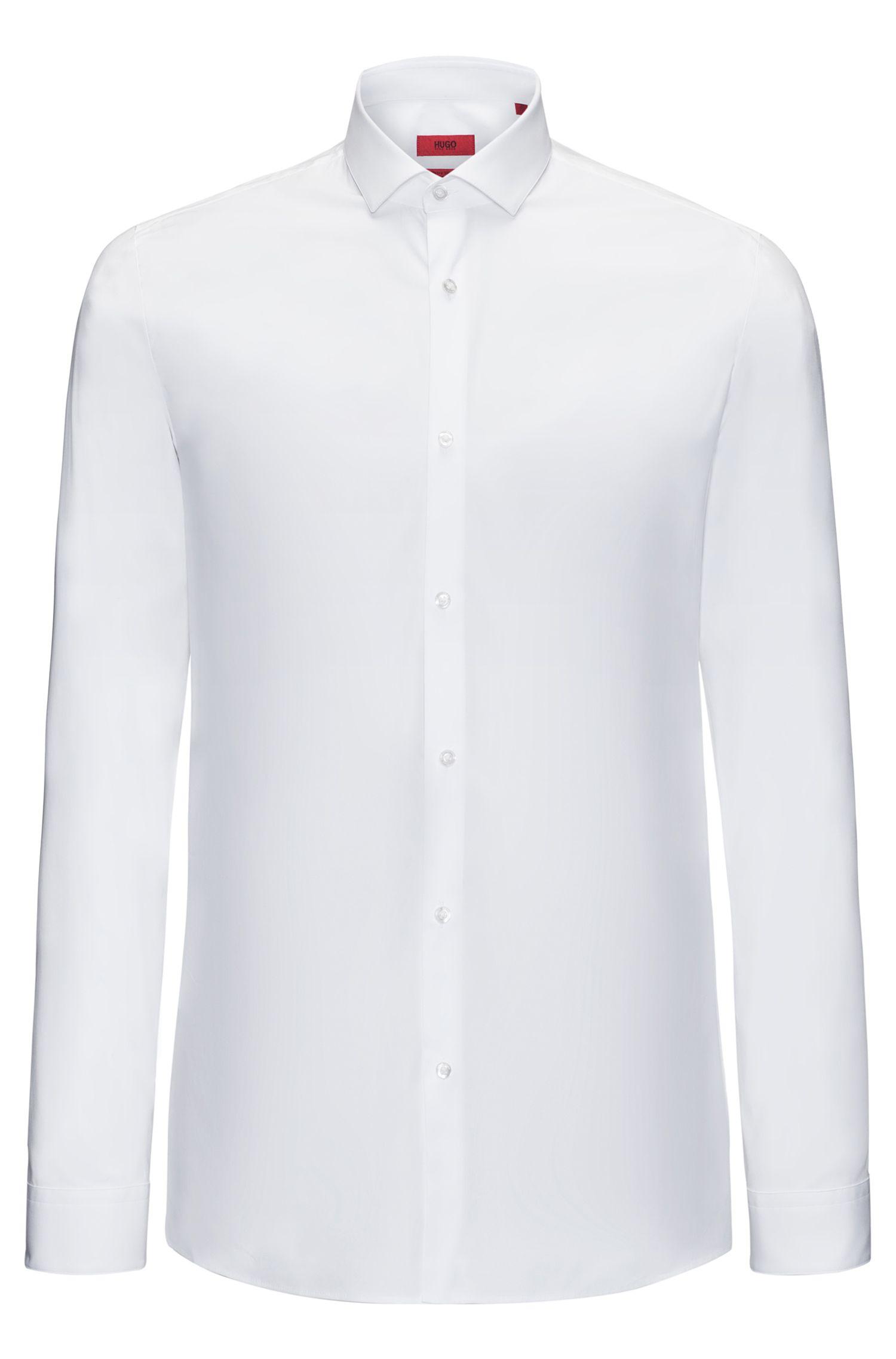 Slim-Fit Hemd aus elastischer Baumwolle