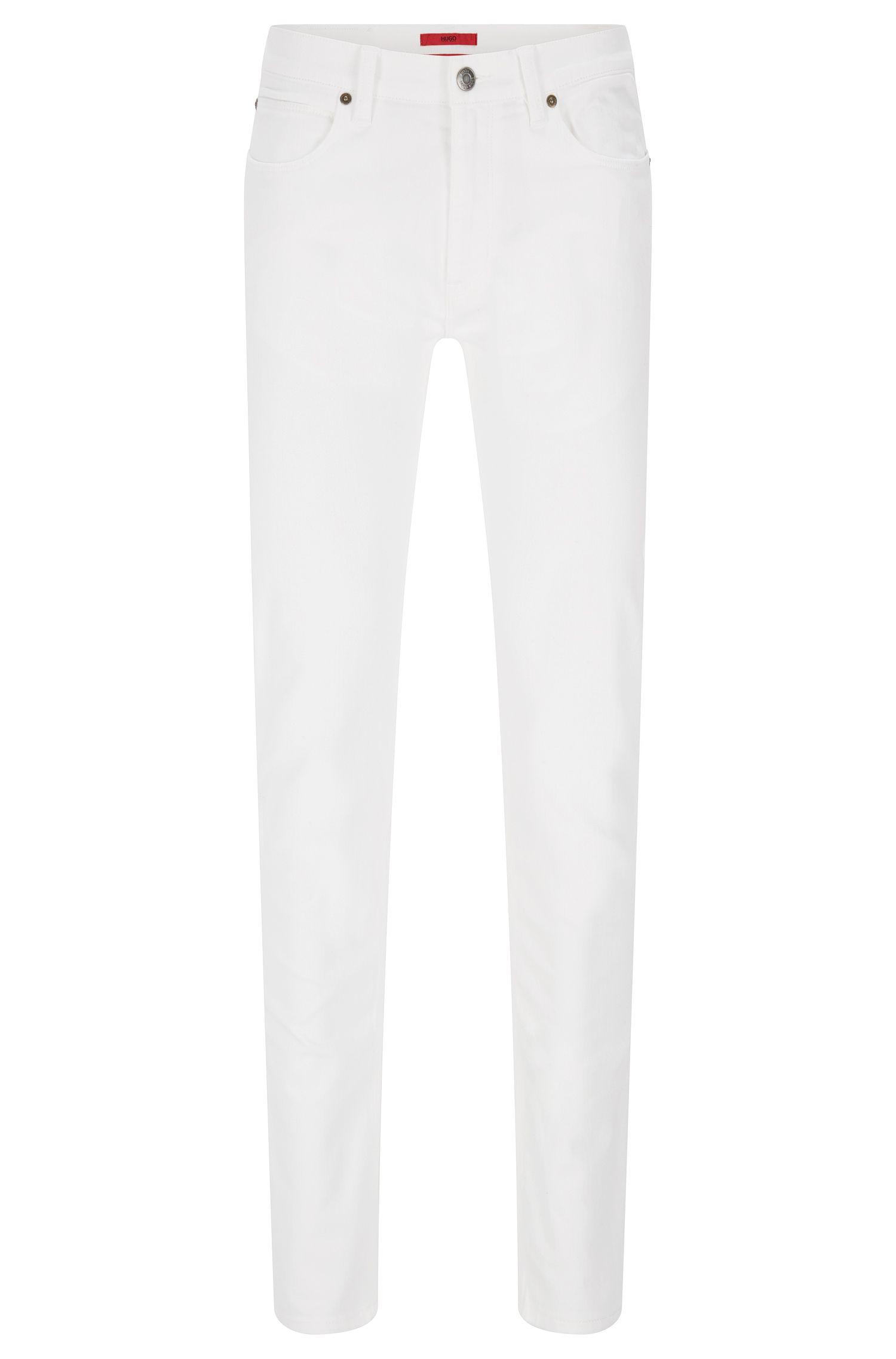 Slim-Fit Jeans aus Baumwoll-Mix im Five-Pocket-Stil: 'HUGO 708'