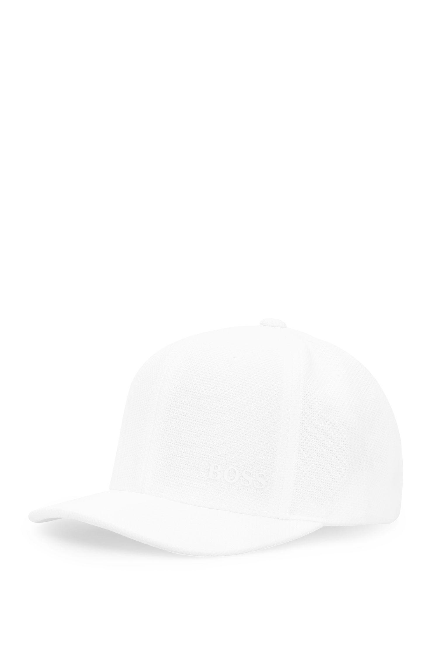 Baseballpet van een elastische materiaalmix: 'Cort-Cap'