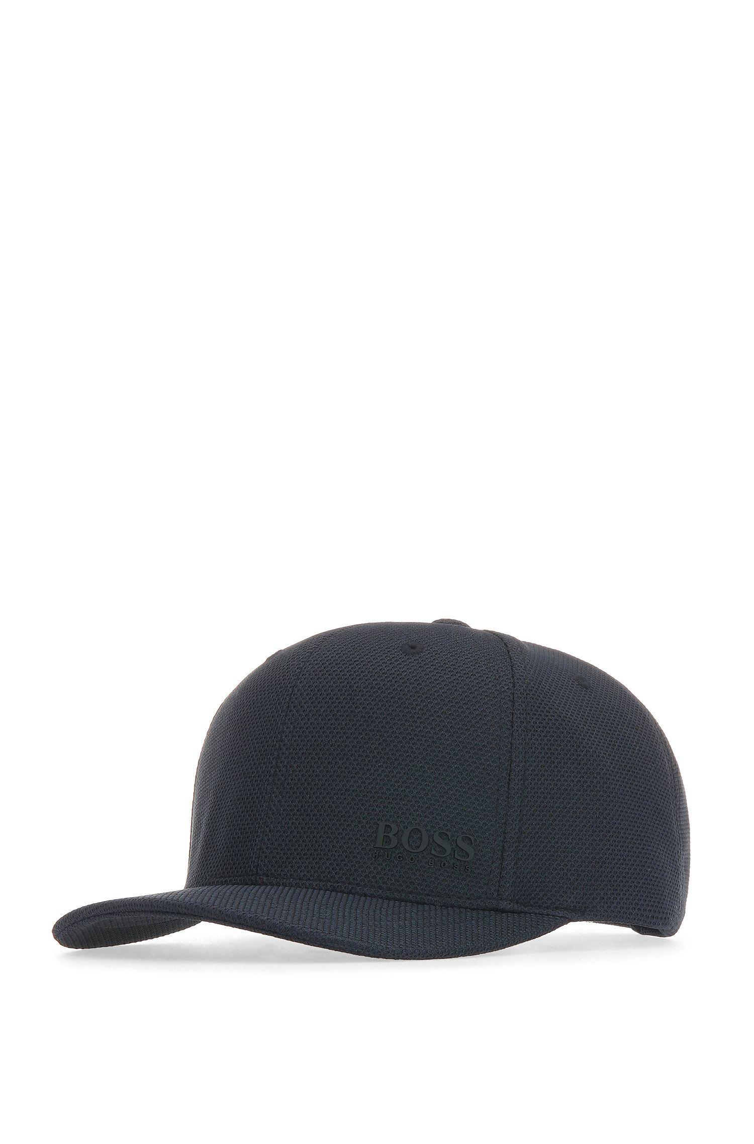 Basecap aus elastischem Material-Mix: ´Cort-Cap`