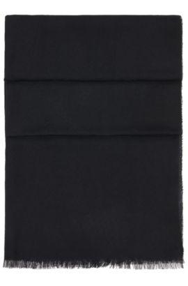 Chal tejido de modal: 'Scarf-Calso', Negro