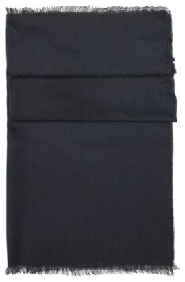 Chal tejido de modal: 'Scarf-Calso', Azul oscuro