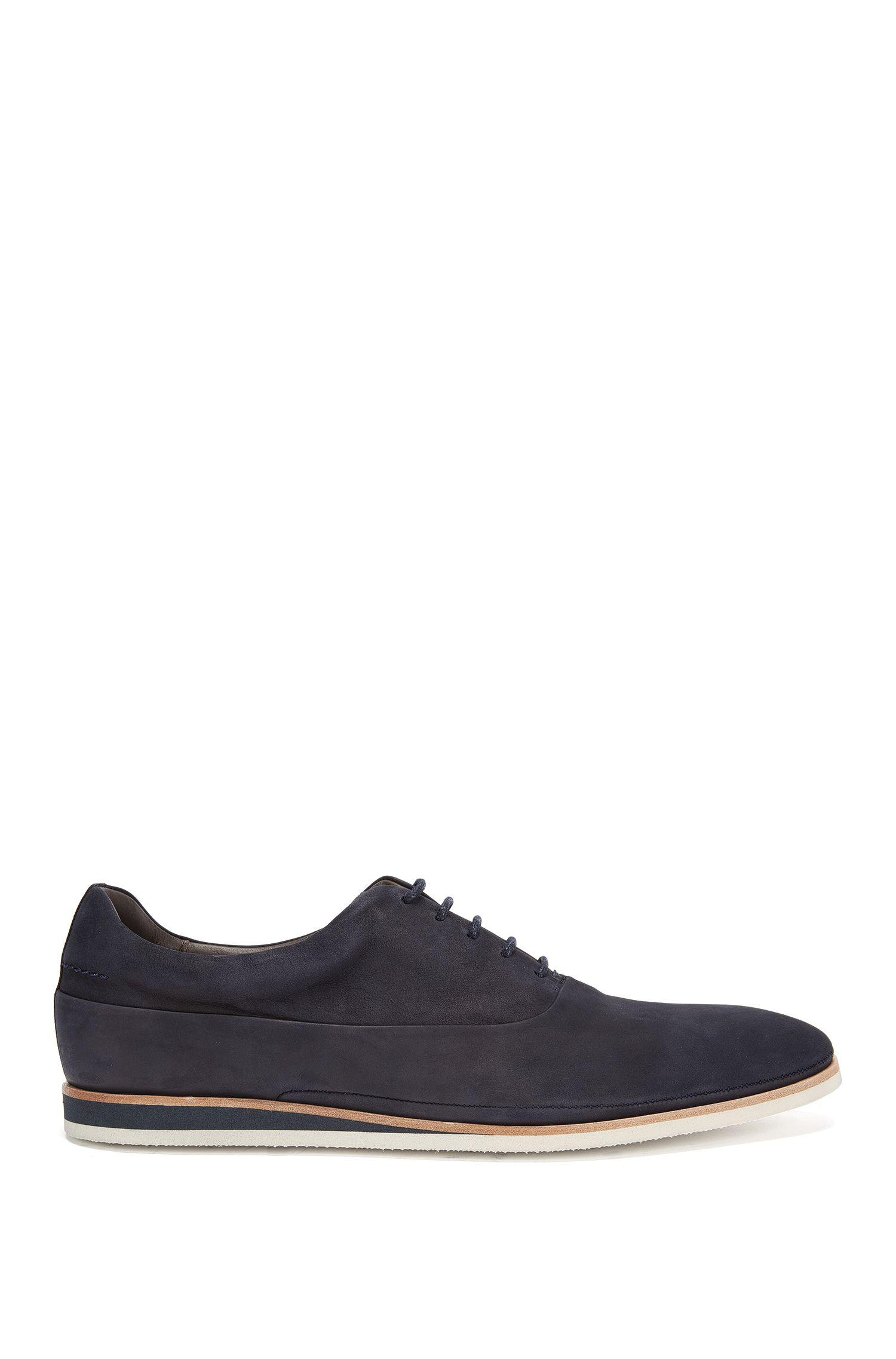 Zapatos de cordón en piel con suela en color contrastado: 'Eclectic_Oxfr_nu'
