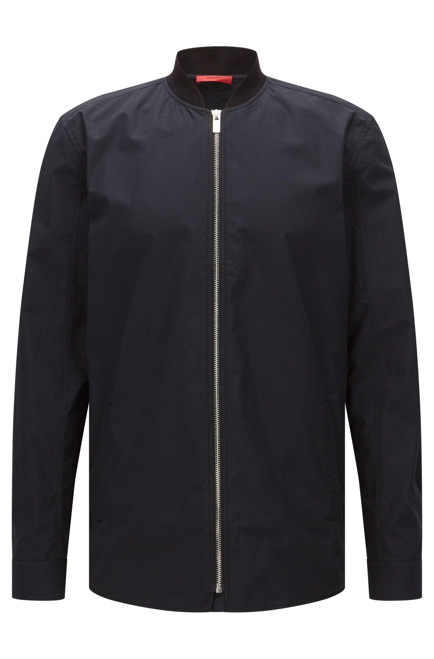 Camisa oversized fit en algodón de estilo cazadora: 'Esuper'