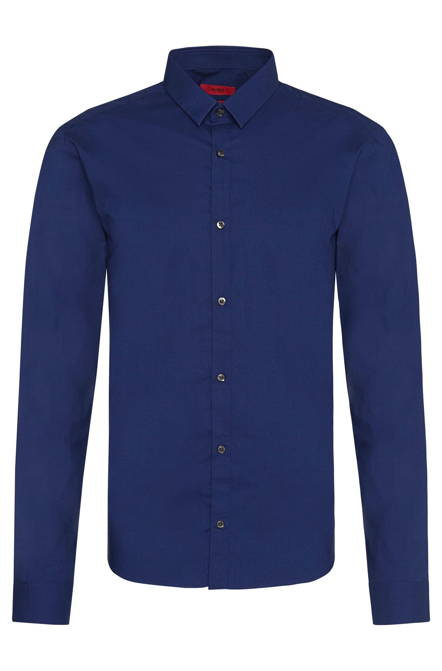 Extra Slim-Fit Hemd aus reiner Baumwolle: 'Ero3'