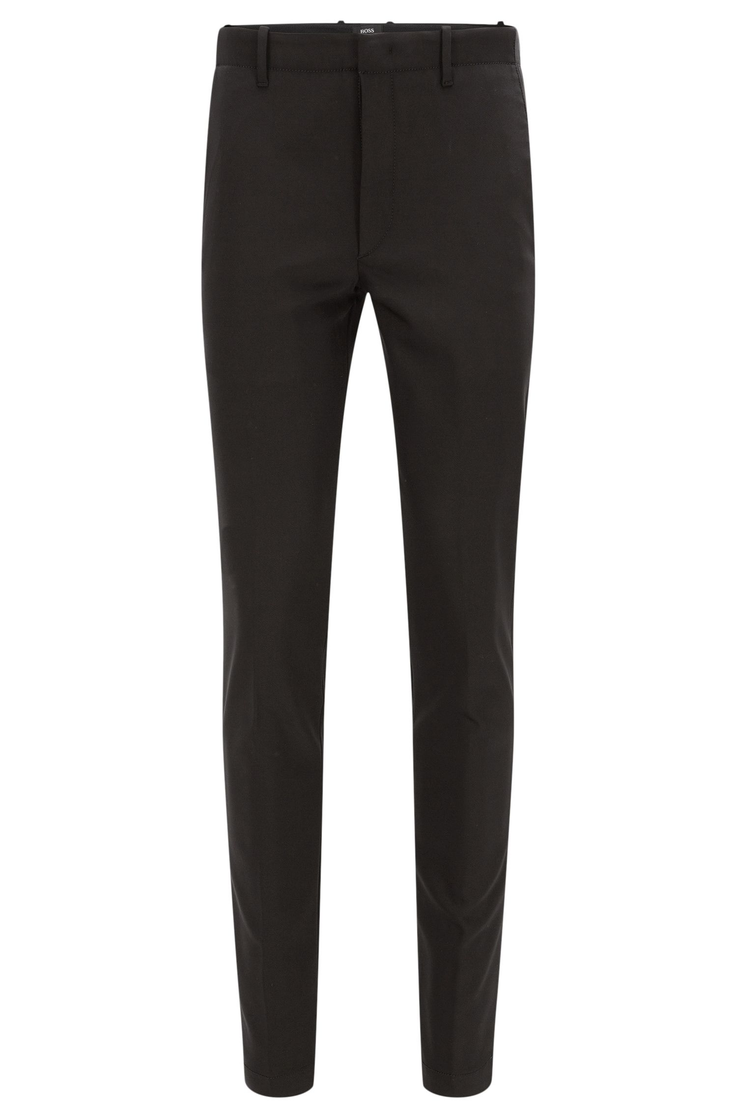 Slim-fit trousers in a stretchy cotton blend: 'Kaito3-MB2-W' from the Mercedes-Benz Collection