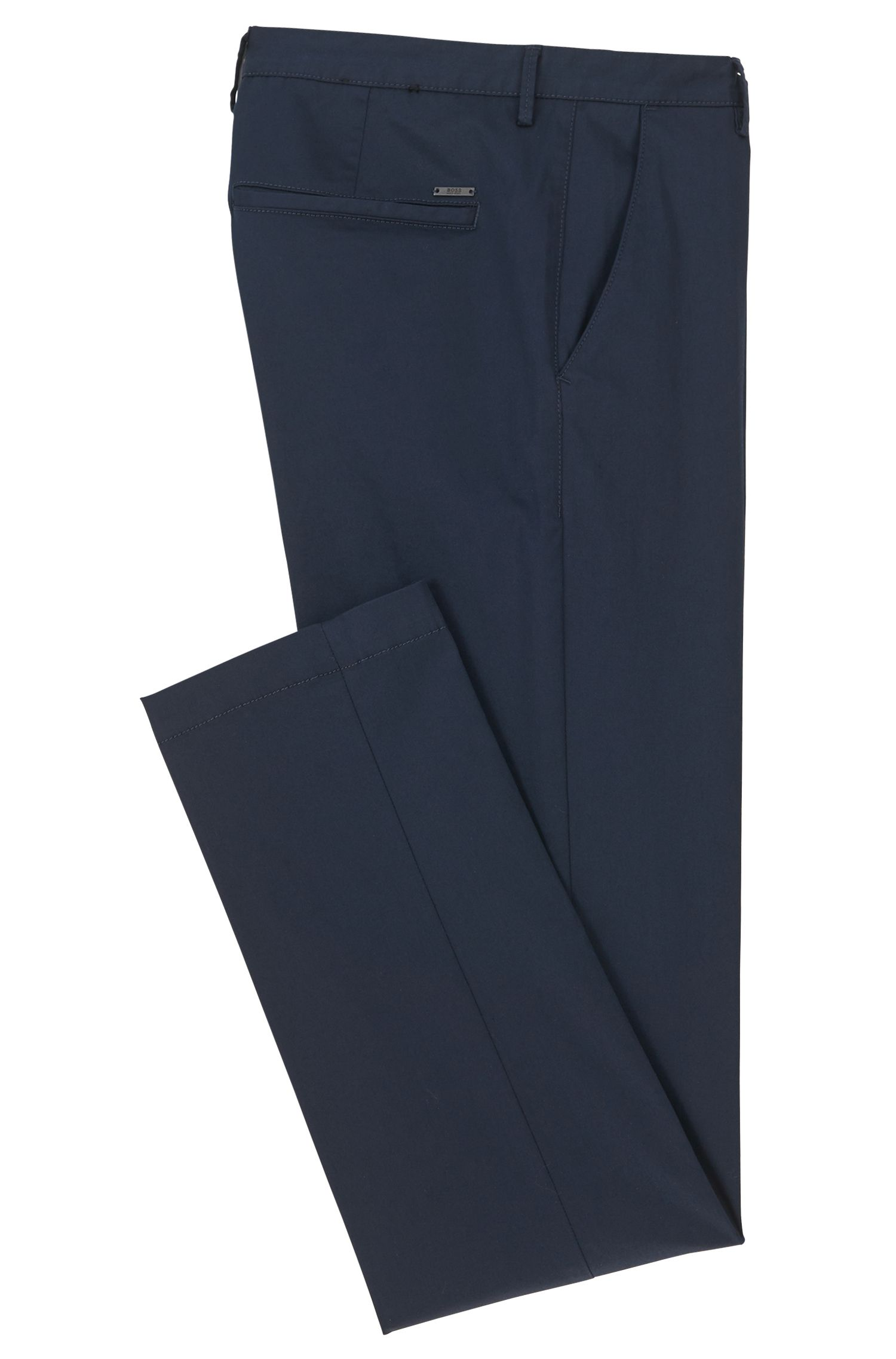 Chino Slim Fit en coton stretch mercerisé