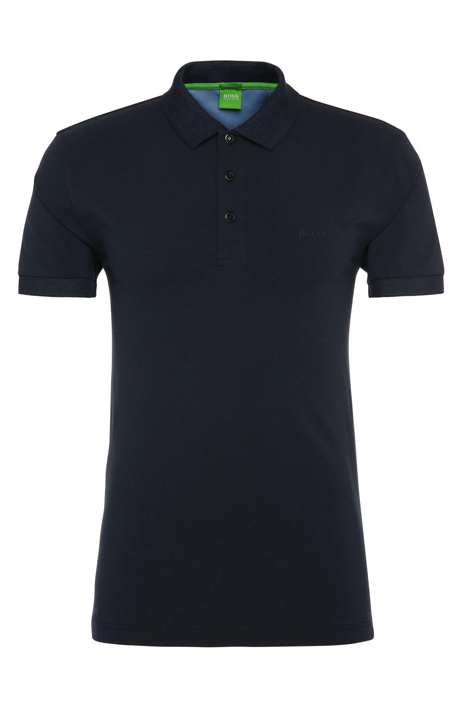 Polo Regular Fit en coton extensible: «Paddy2»