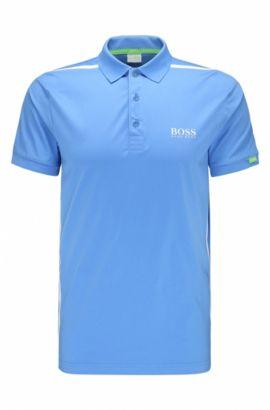 Polo regular fit in cotone elasticizzato: 'Paddy MK 2', Blu