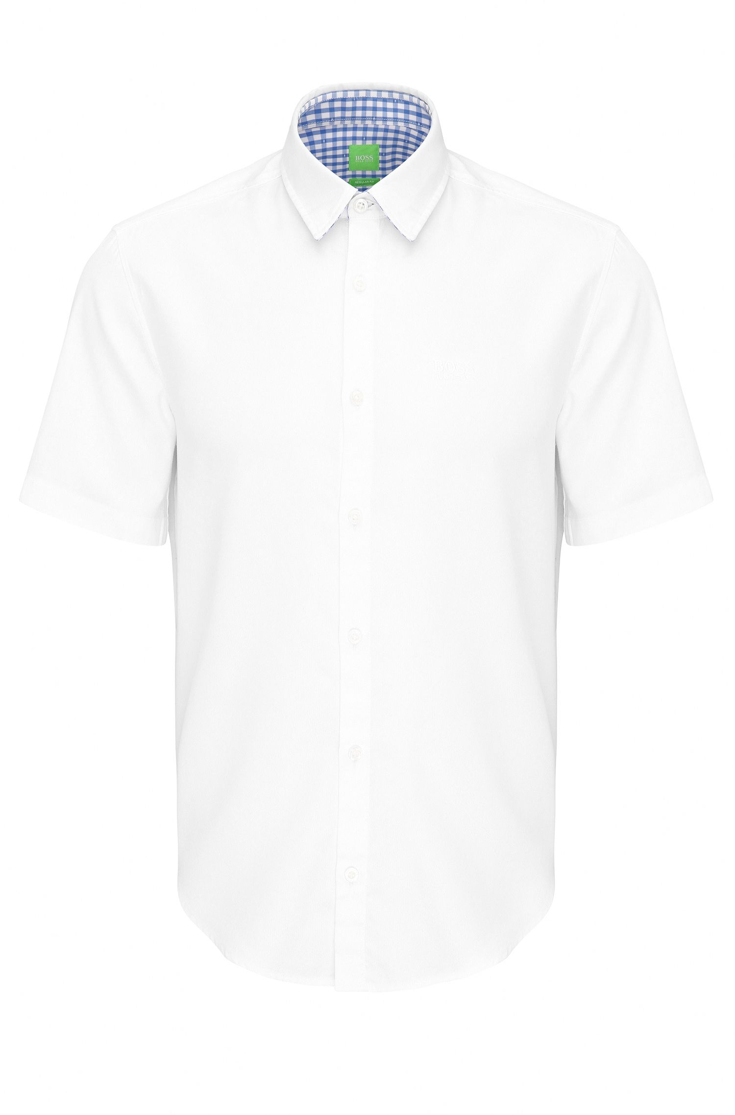 Regular-Fit Hemd aus Baumwolle: ´C-Busterino`