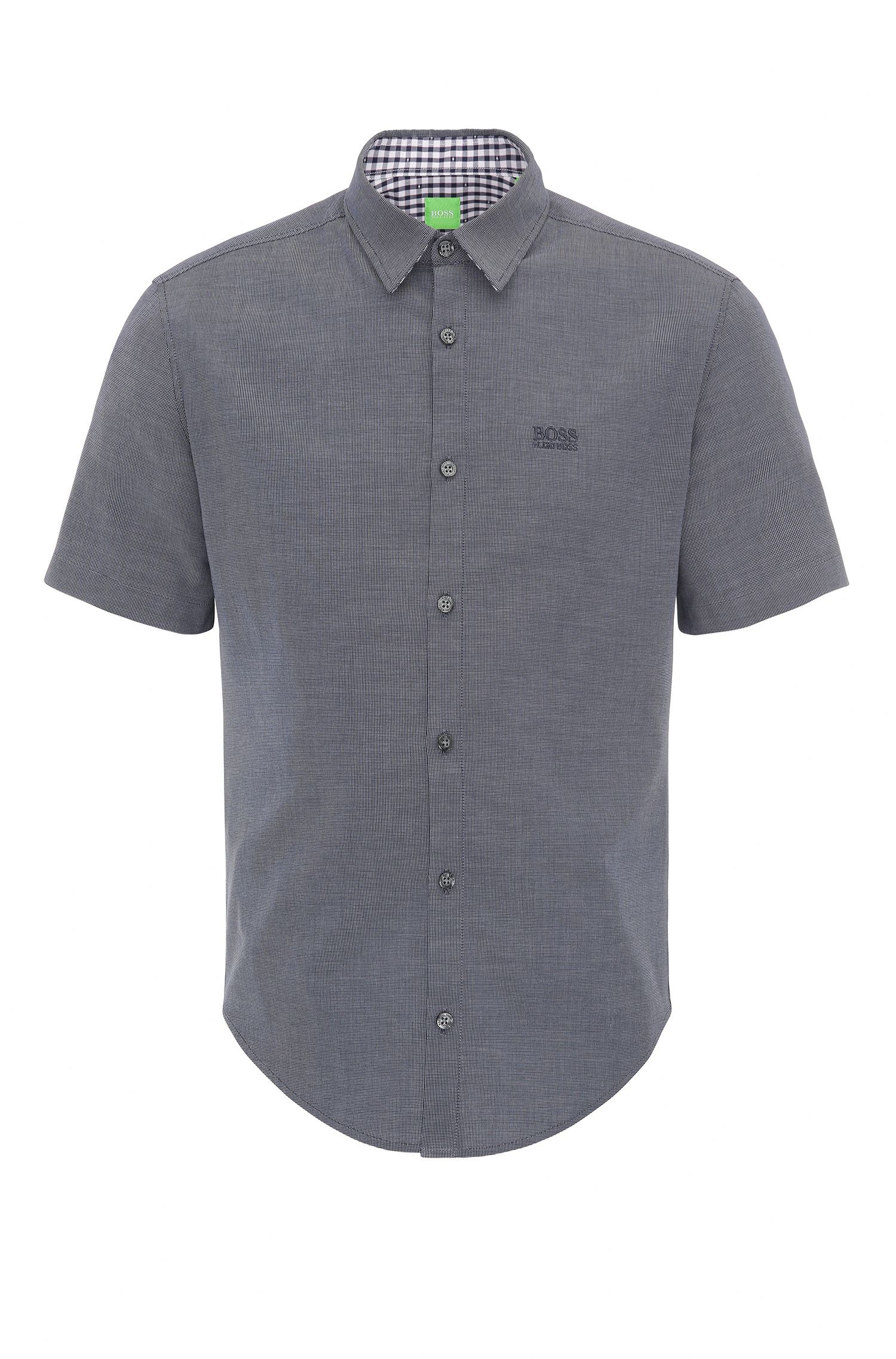 Camicia regular fit in cotone: 'C-Busterino'