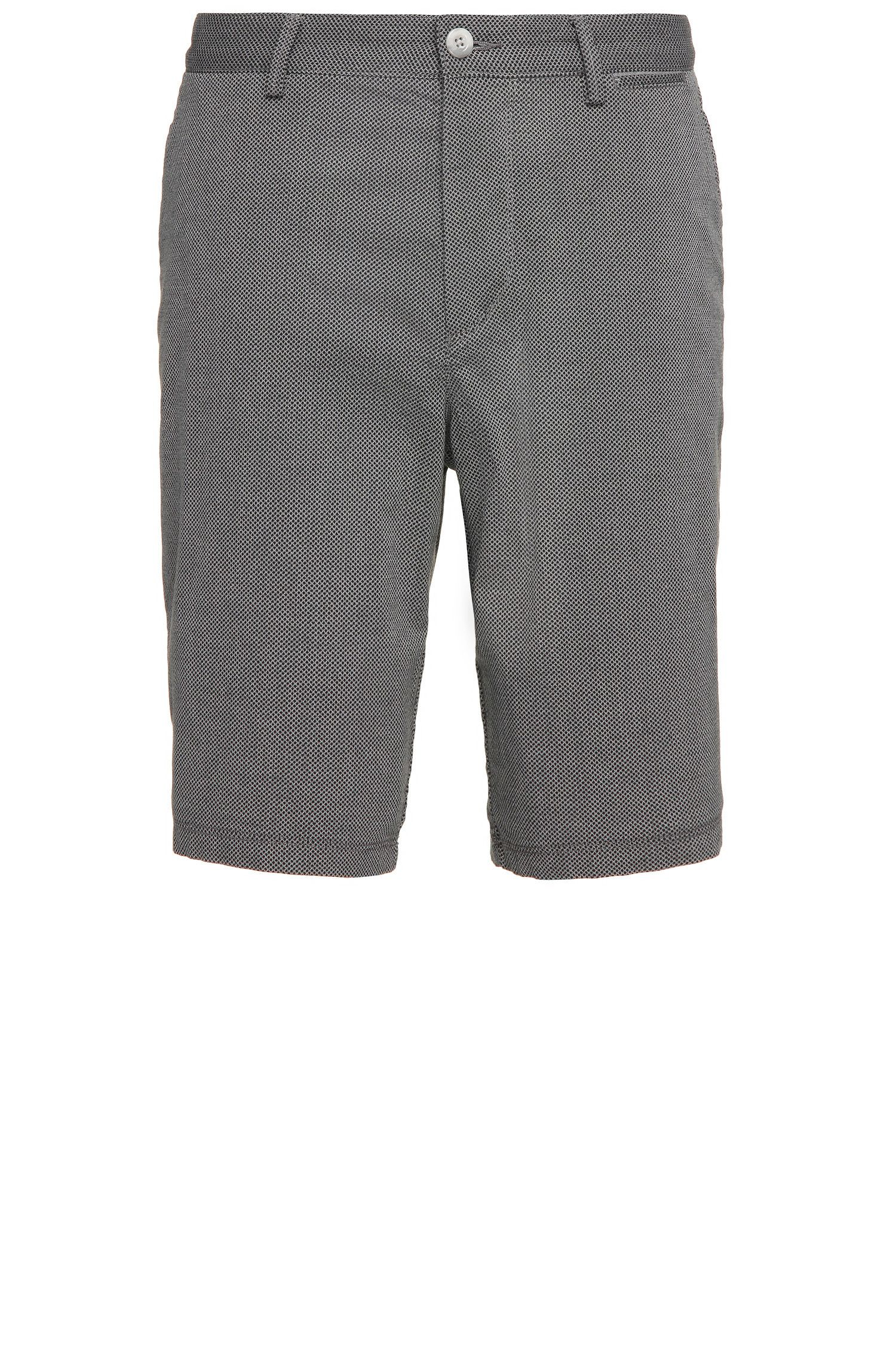Shorts regular fit estampados en algodón elástico: 'C-Clyde2-5-W'