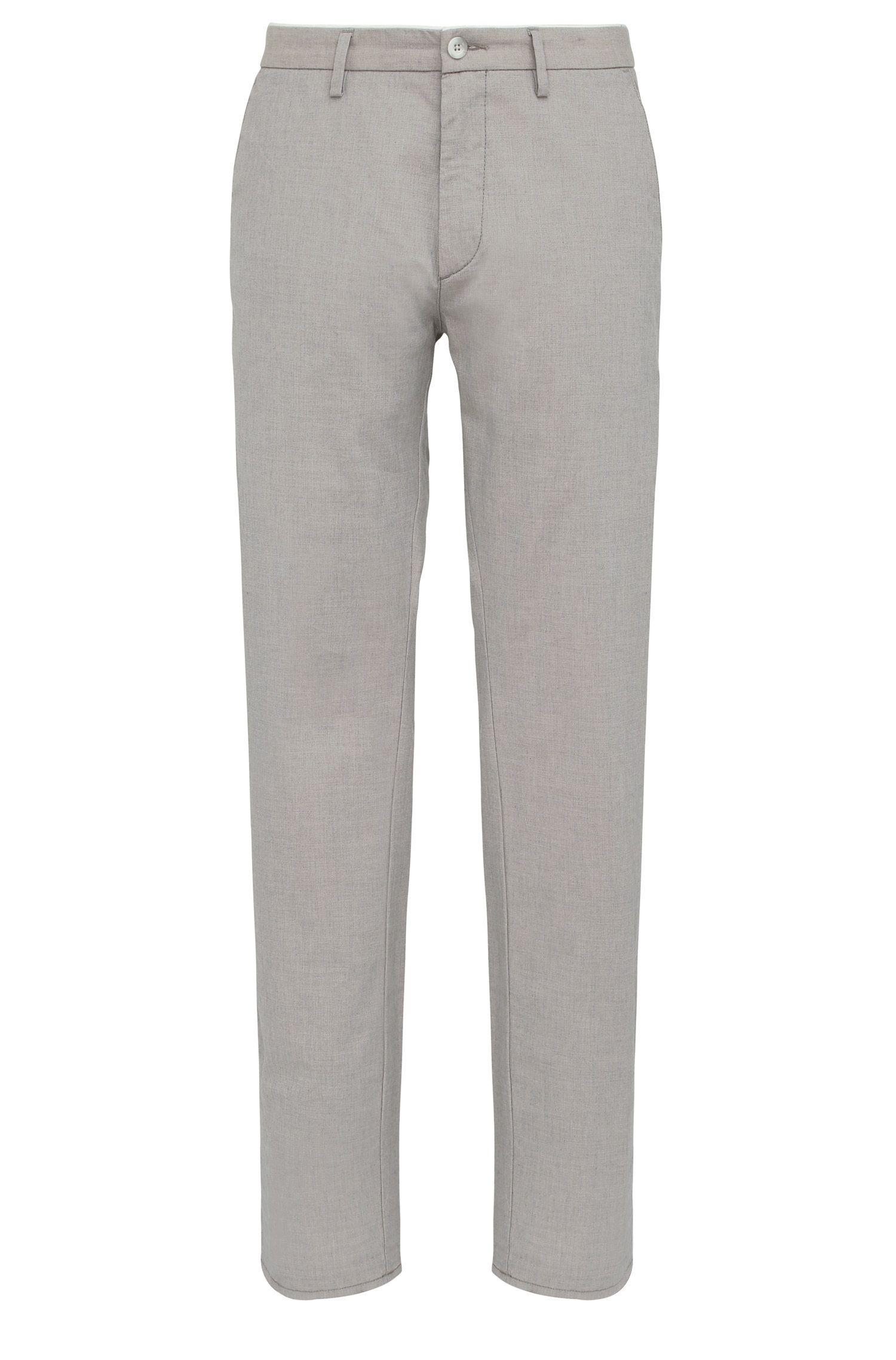 Pantaloni slim fit in cotone elasticizzato: 'C-Rice1-1-W'