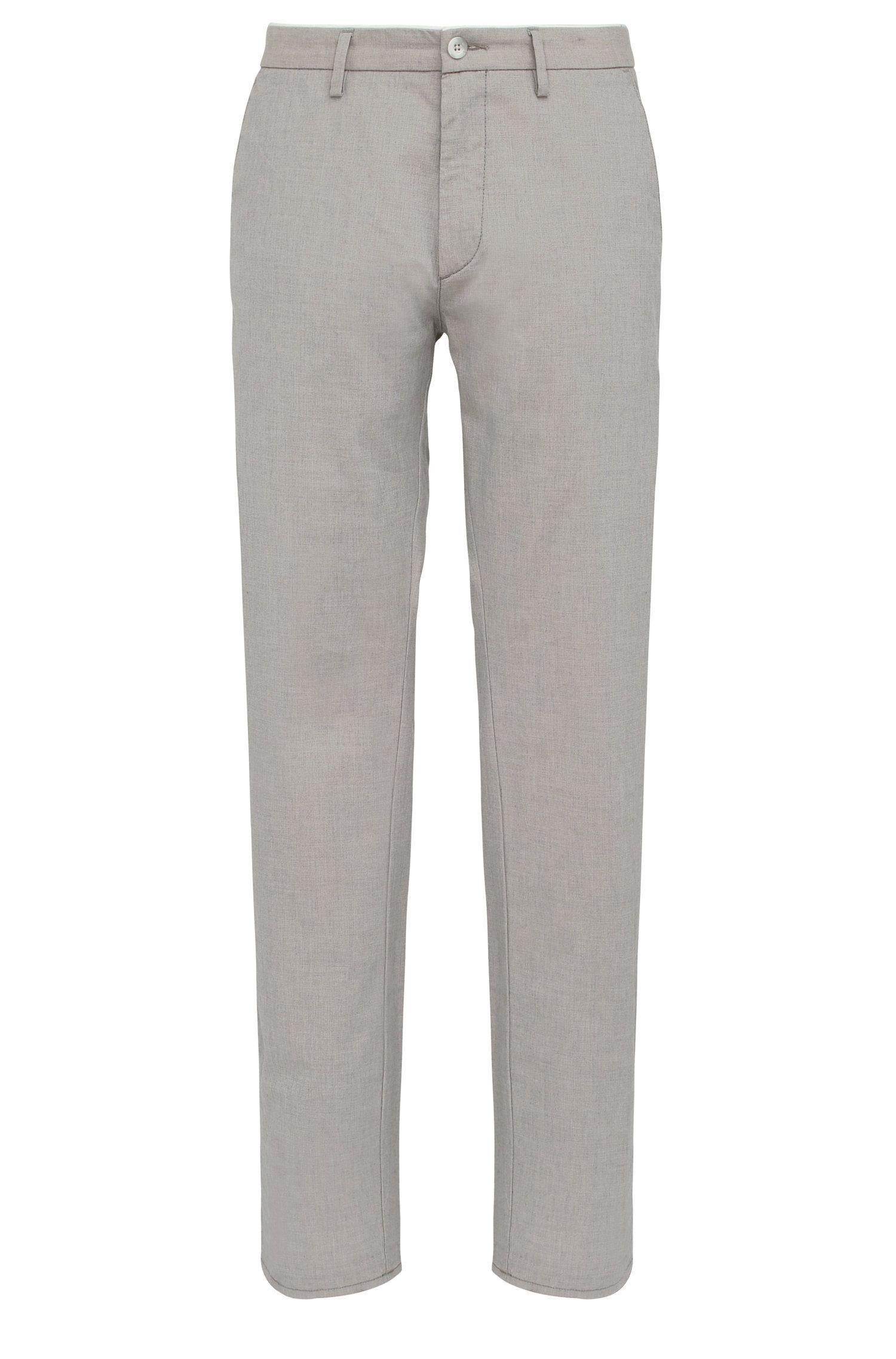 Pantalon Slim Fit en coton extensible : « C-Rice1-1-W »