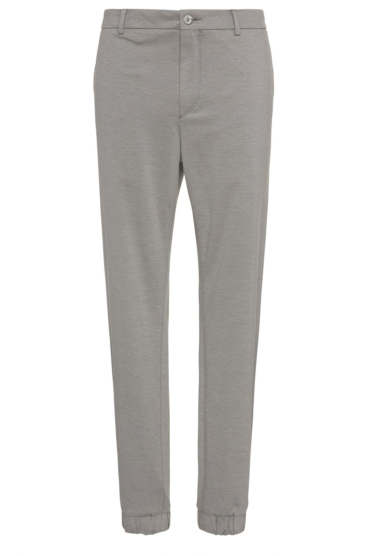 Pantalón slim fit en mezcla de algodón: 'Lukes7-1'