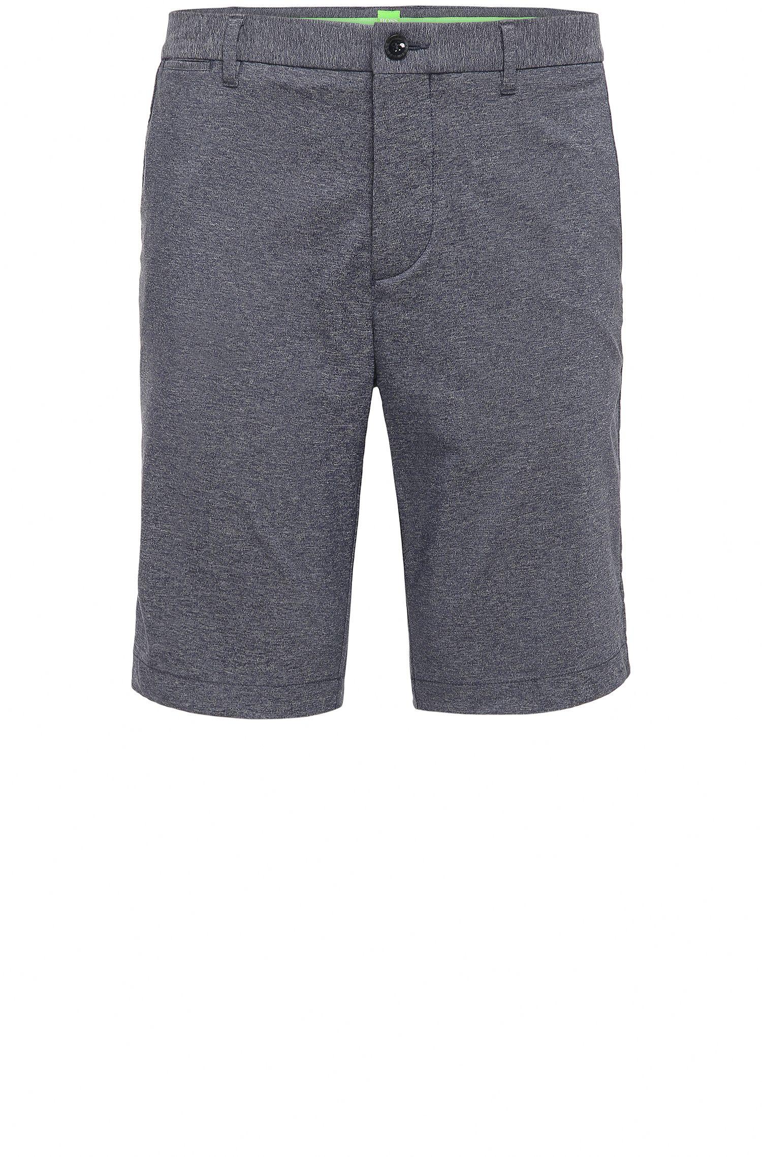Slim-Fit Golf-Shorts aus elastischem Baumwoll-Mix: ´Hayler-Slim`