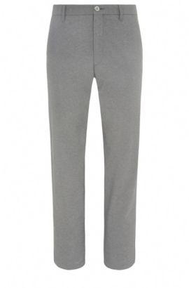 Pantaloni da golf slim fit mélange in materiali misti elasticizzati: 'Hakan-Slim', Grigio