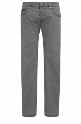 Regular-Fit Jeans aus elastischer Baumwolle: ´C-Maine1-1-20`, Anthrazit