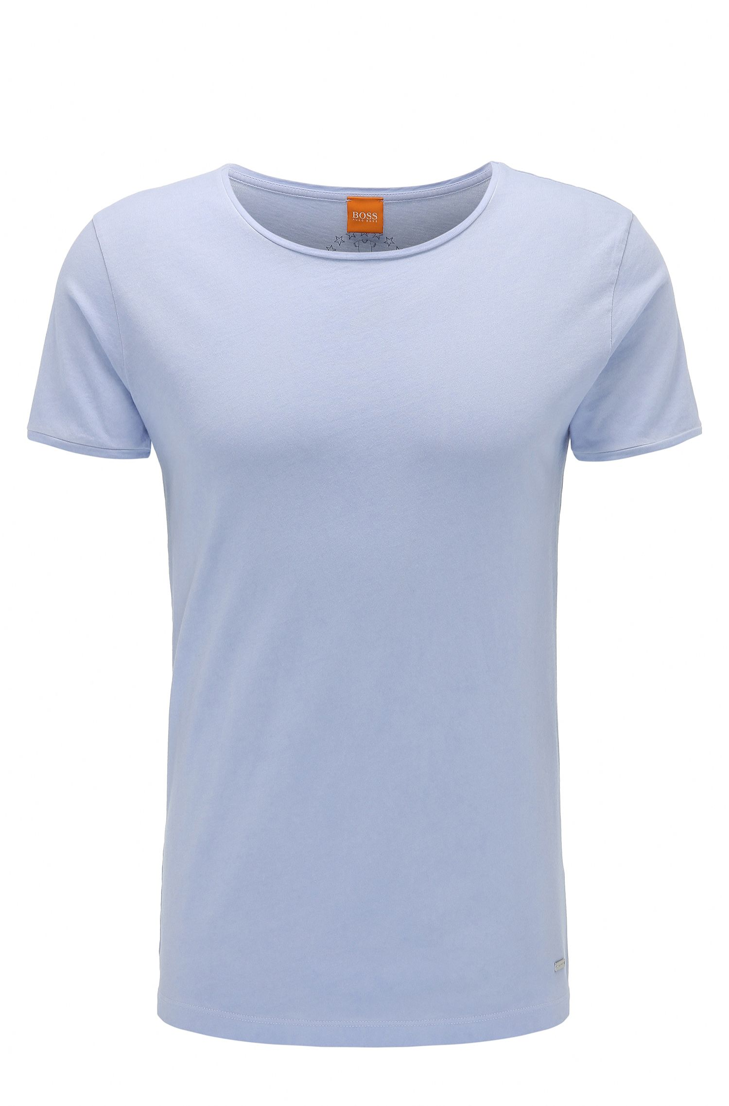 T-shirt Slim Fit uni en coton : « Touring »