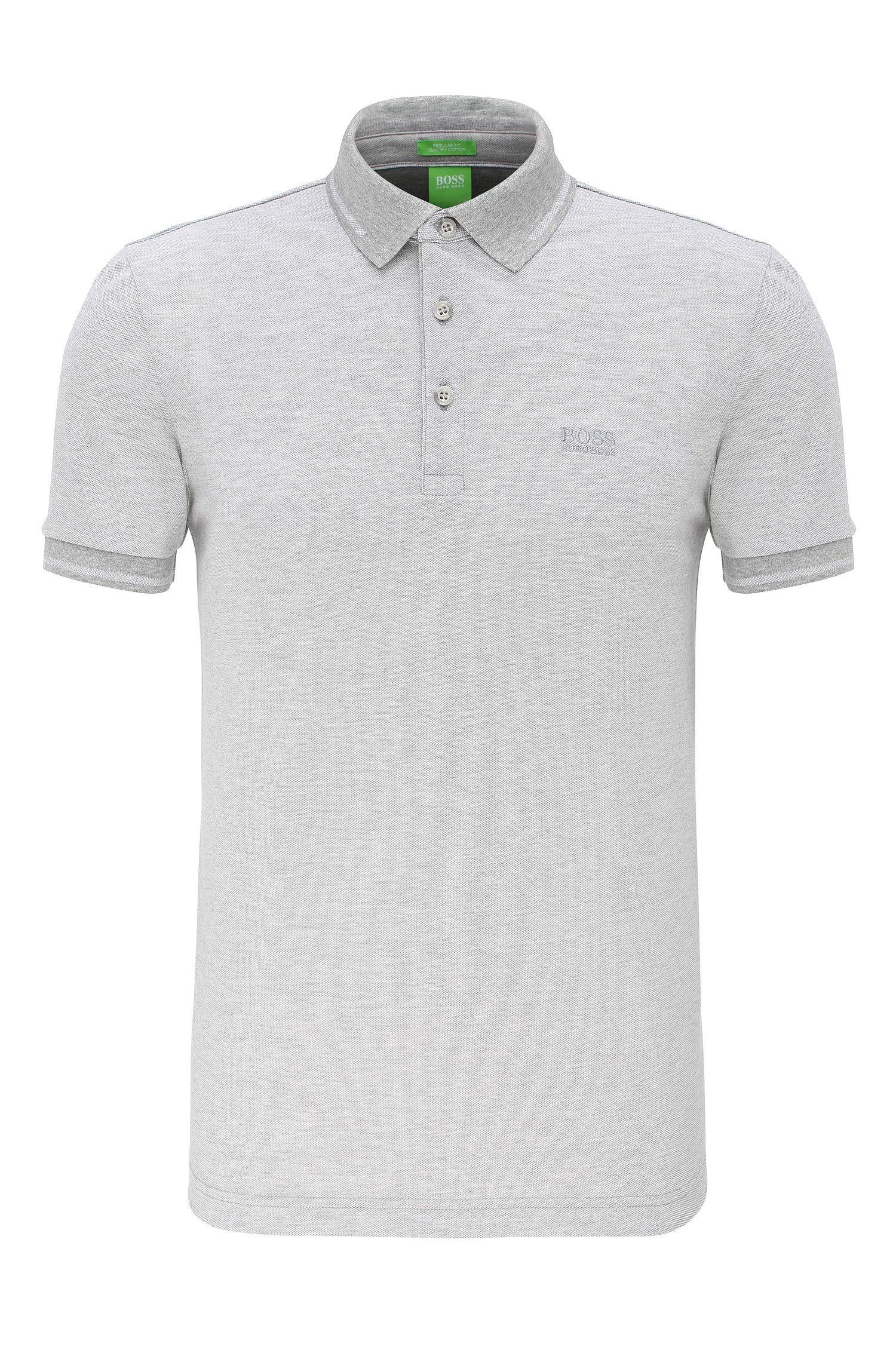Regular-Fit Poloshirt aus Baumwolle: ´C-Vito`