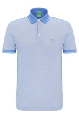 Polo regular fit in cotone: 'C-Vito', Blu