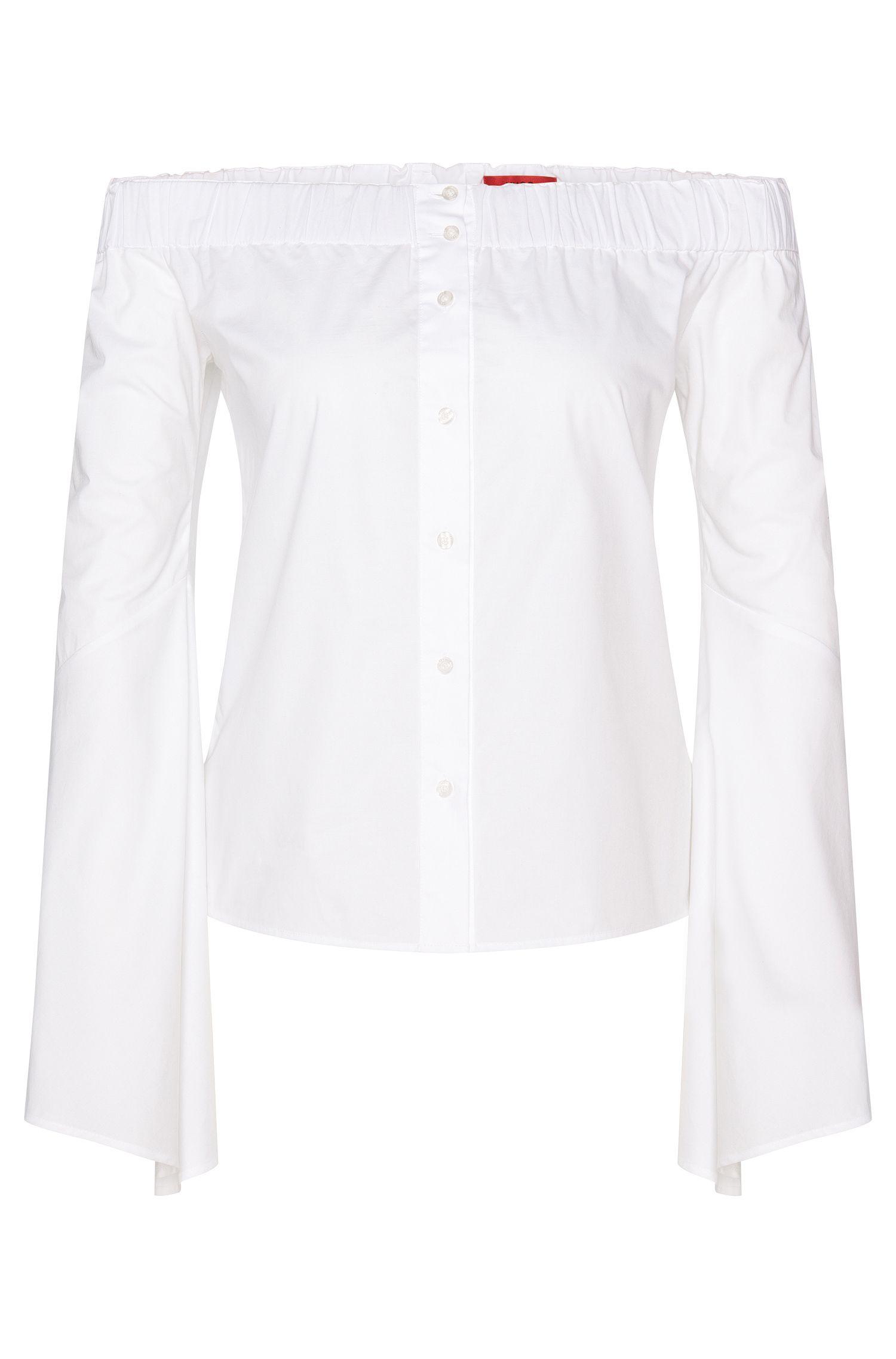 Blusa con escote Carmen: 'Ewina'