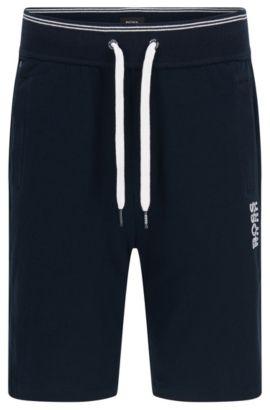 Pantalón corto de chándal en algodón: 'Short Pant', Azul oscuro