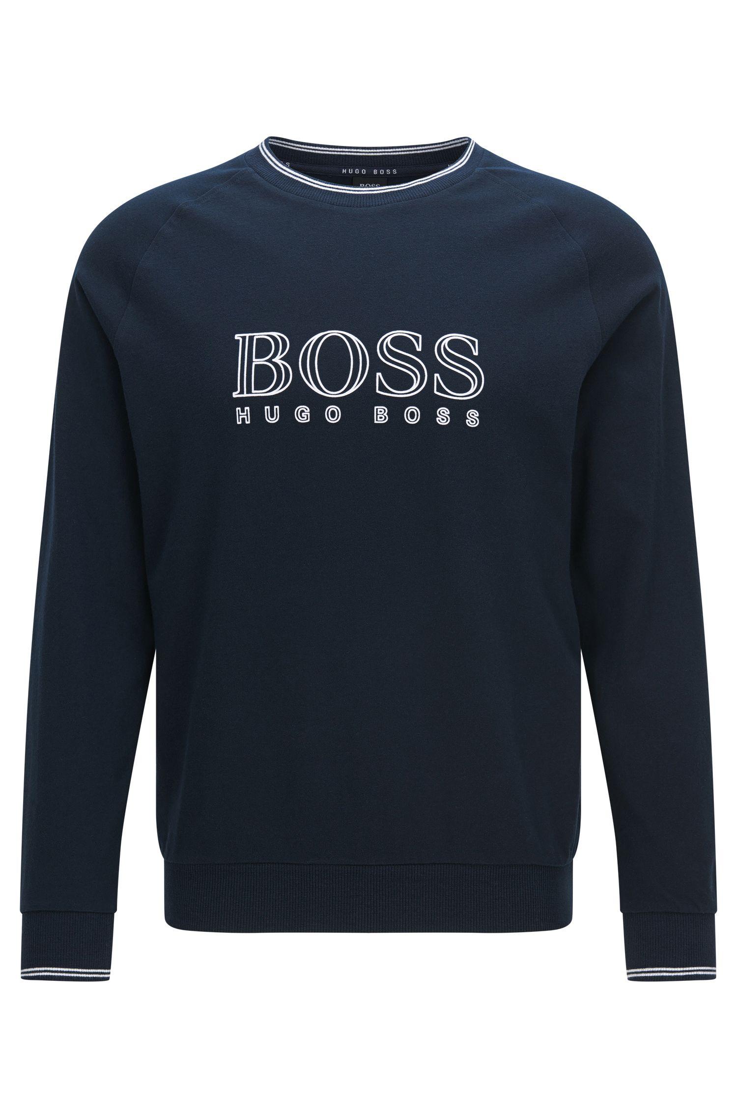 Sweatshirt aus Baumwolle mit Raglan-Ärmeln: 'Sweatshirt'