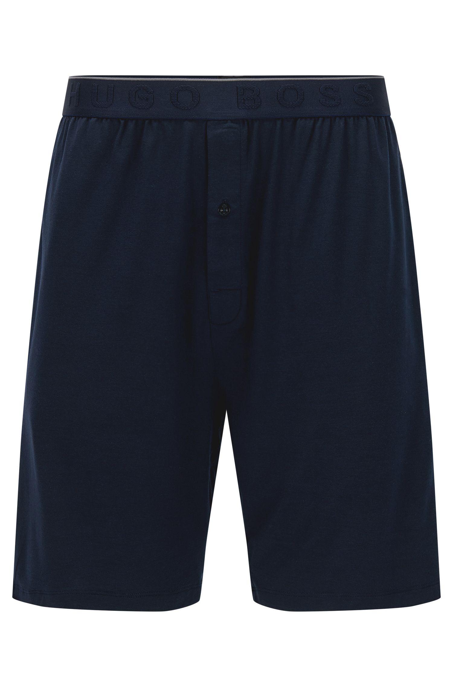 Shorts de pijama en mezcla de modal elástico con tecnología SeaCell: 'Short Pant EW'
