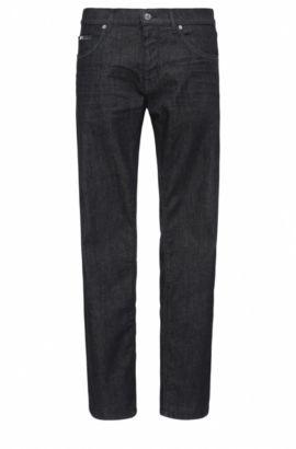 Jeans Regular Fit en coton stretch: «C-MAINE1», Bleu foncé
