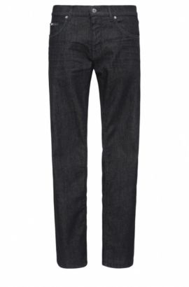 Regular-fit jeans van stretchkatoen: 'C-MAINE1', Donkerblauw