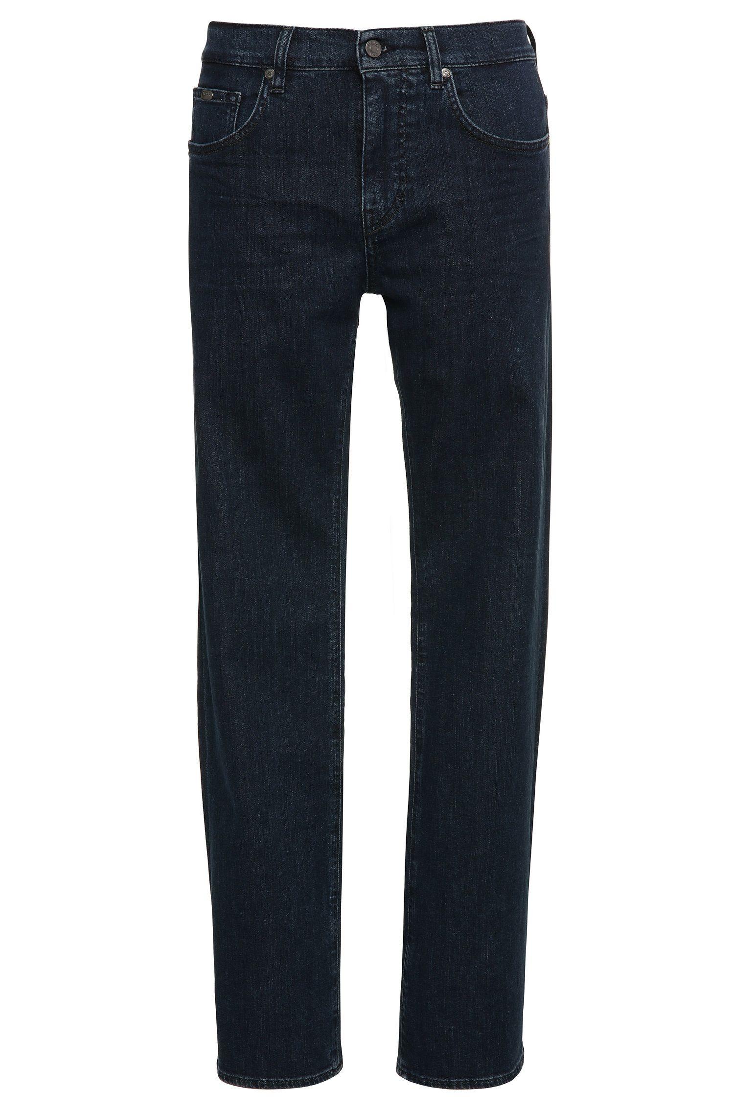 Relaxed-Fit Jeans aus elastischer Baumwolle: ´C-KANSAS`