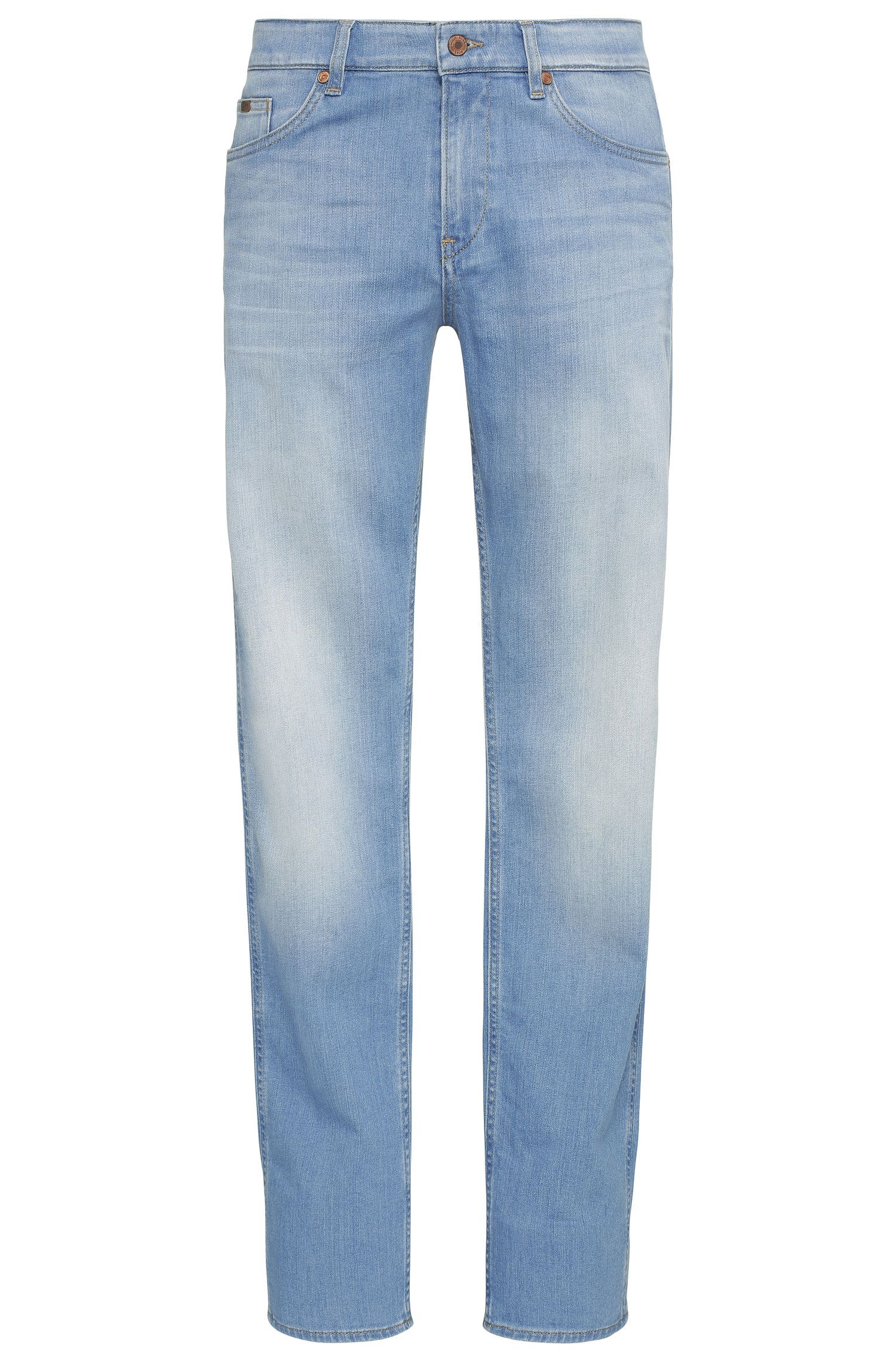 Faded slim-fit jeans in stretch cotton: 'C-DELAWARE1'