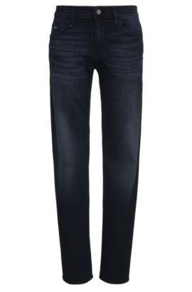 Jeans slim fit in cotone elasticizzato: 'Drake2', Blu scuro
