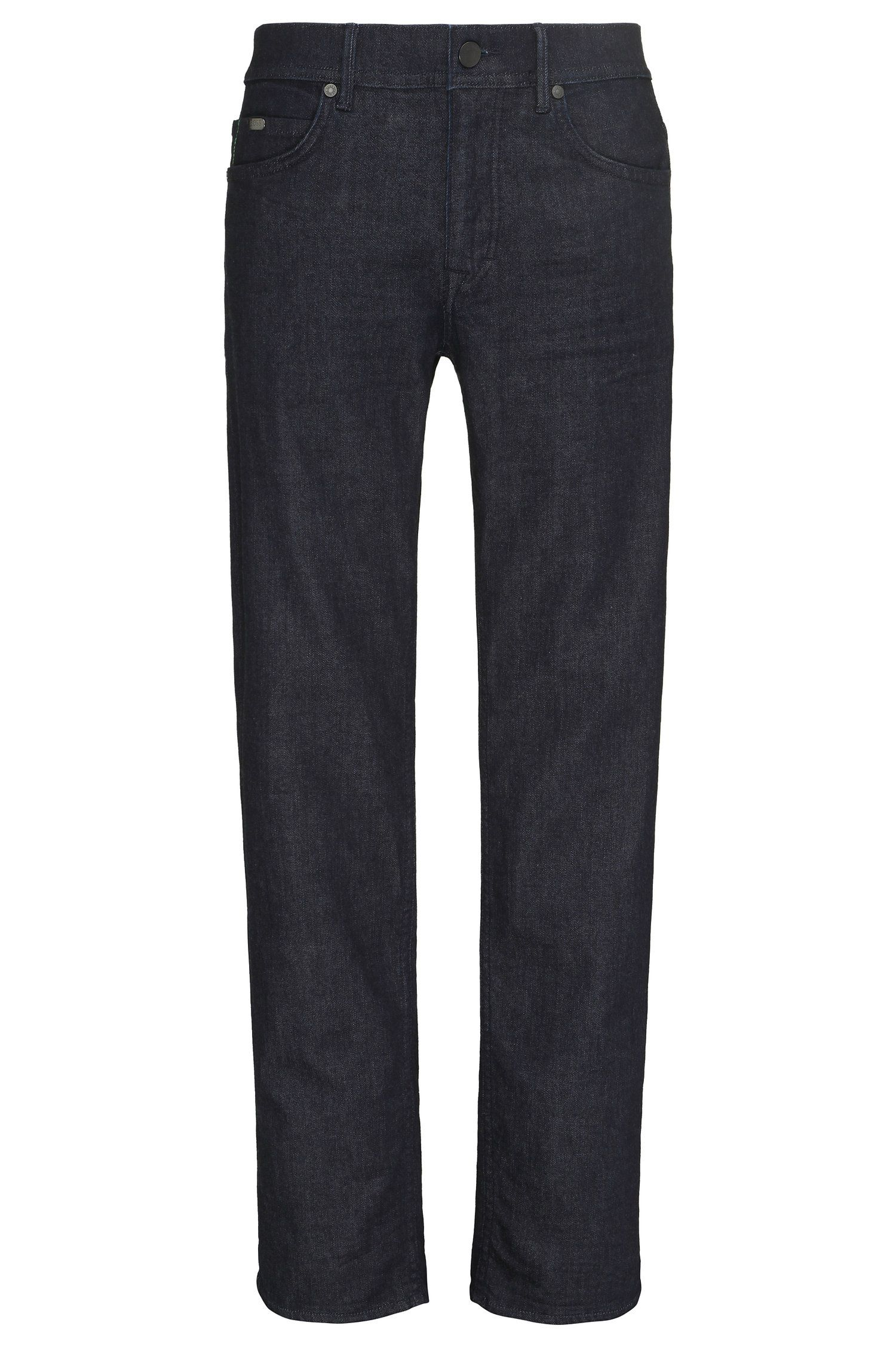 Regular-fit jeans in a stretchy cotton blend: 'Deam30'