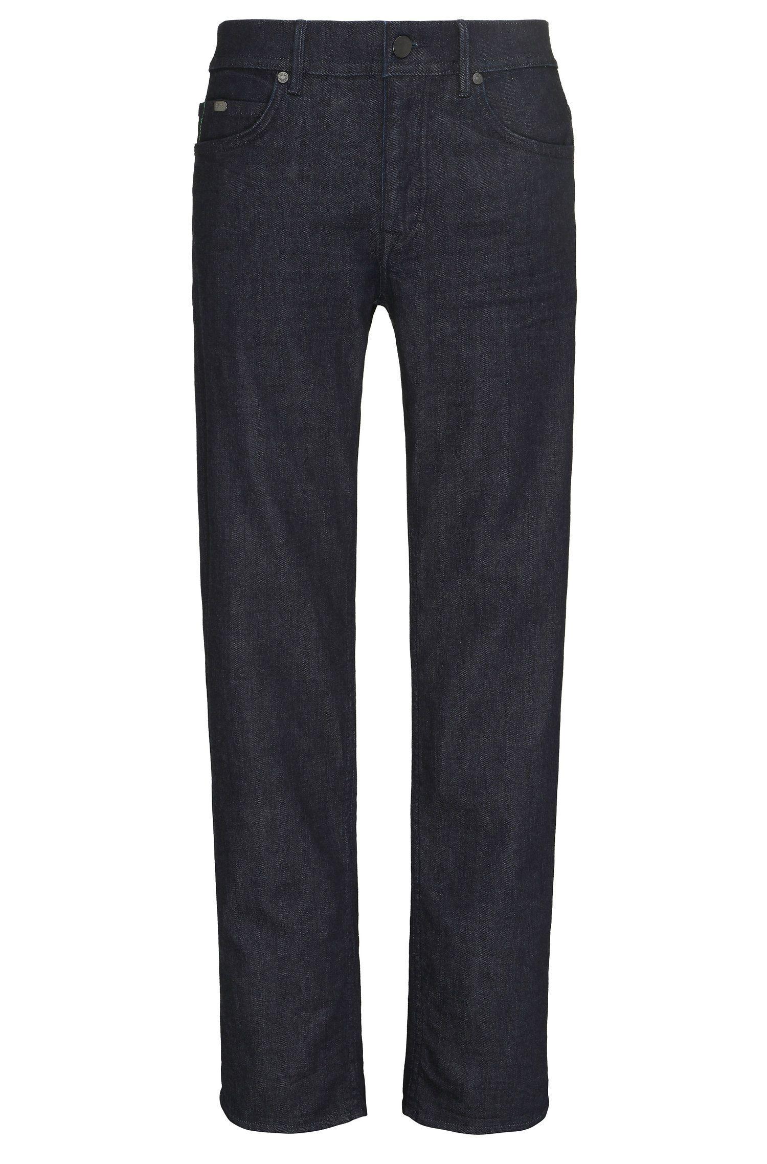 Jeans Regular Fit en coton mélangé extensible: «Deam30»
