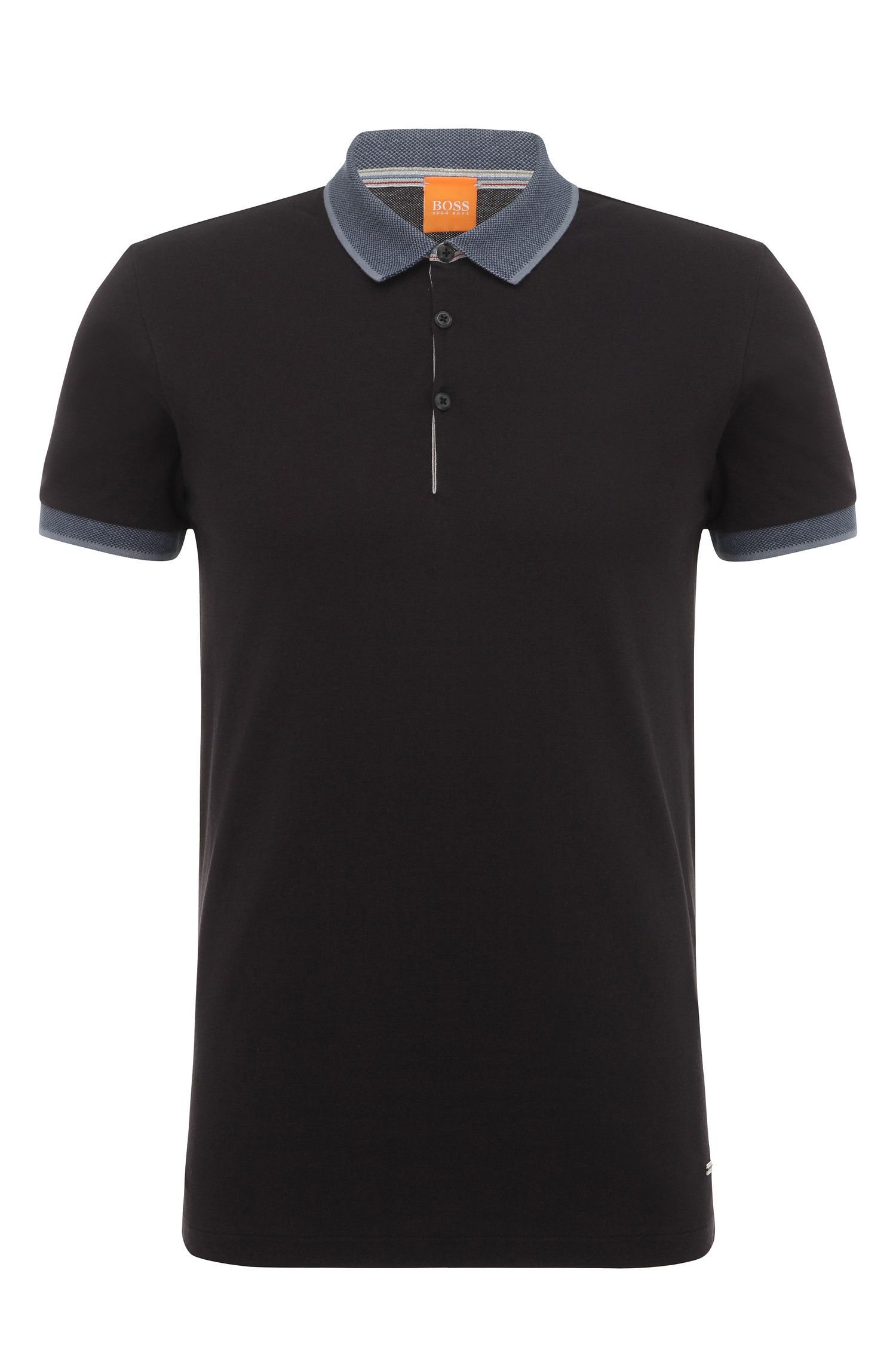 Regular-fit cotton polo shirt: 'Pejo 1'
