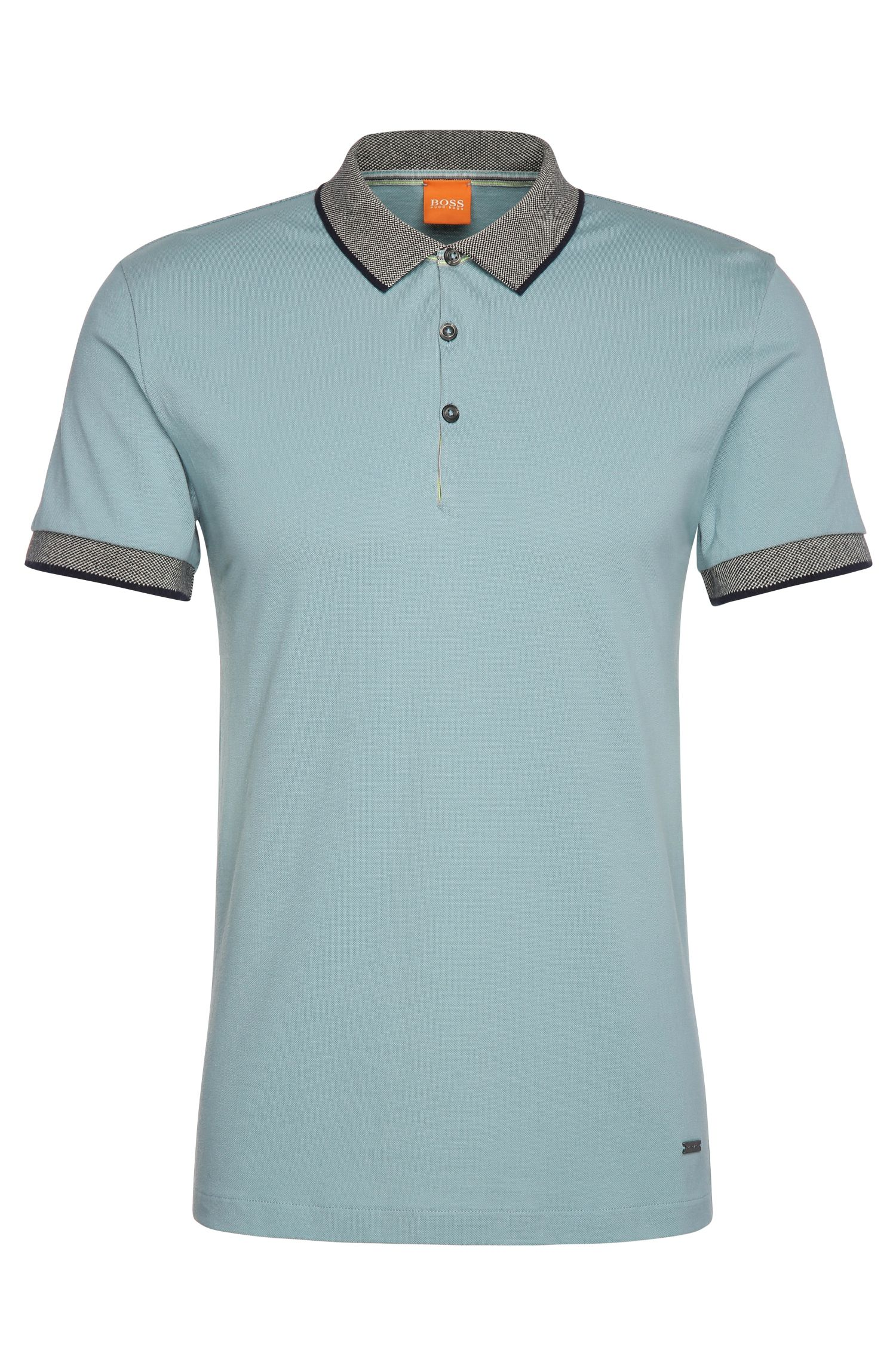 Regular-Fit Poloshirt aus Baumwolle: ´Pejo 1`