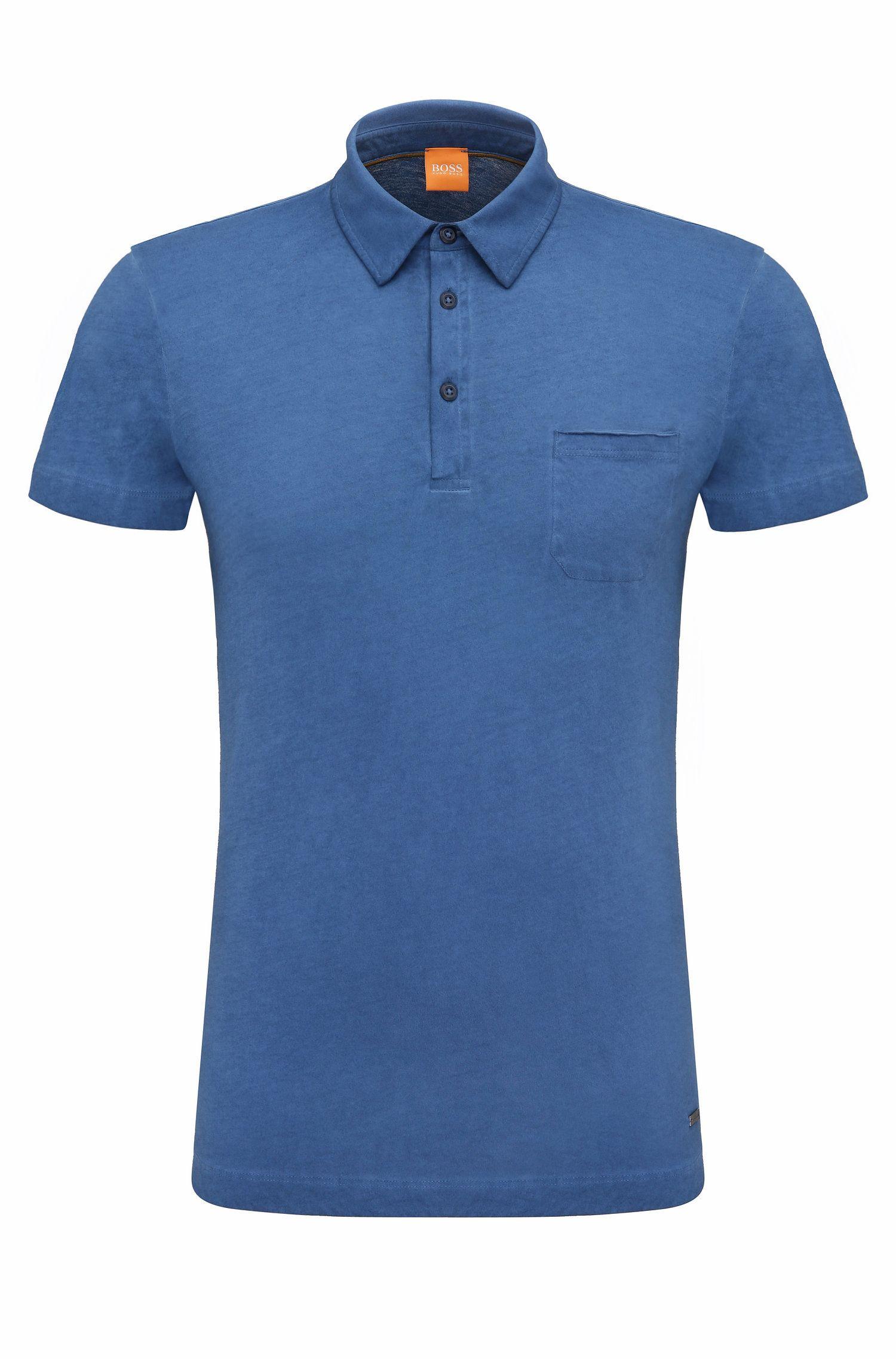 Polo regular fit in cotone: 'Perpignan 1'