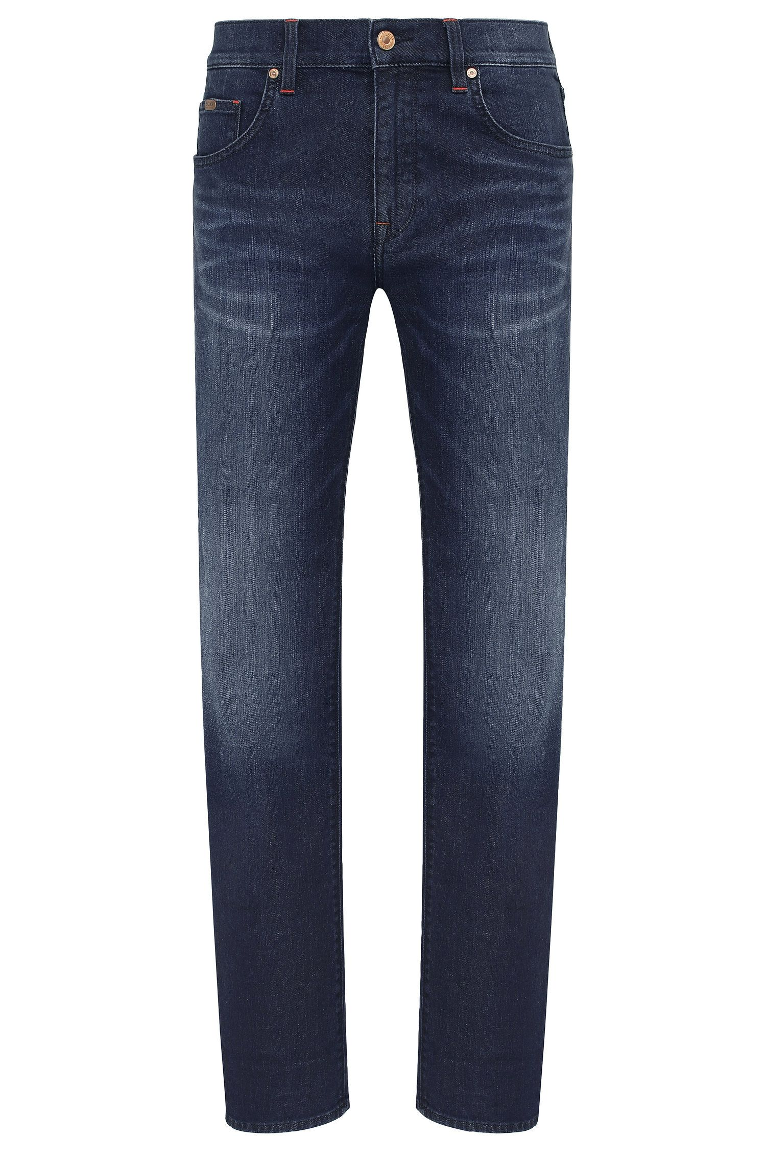 Regular-fit jeans in a stretchy cotton blend: 'C-MAINE1'