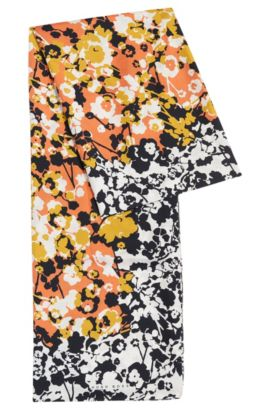 Foulard a fiori in seta: 'Lyvipa', A disegni