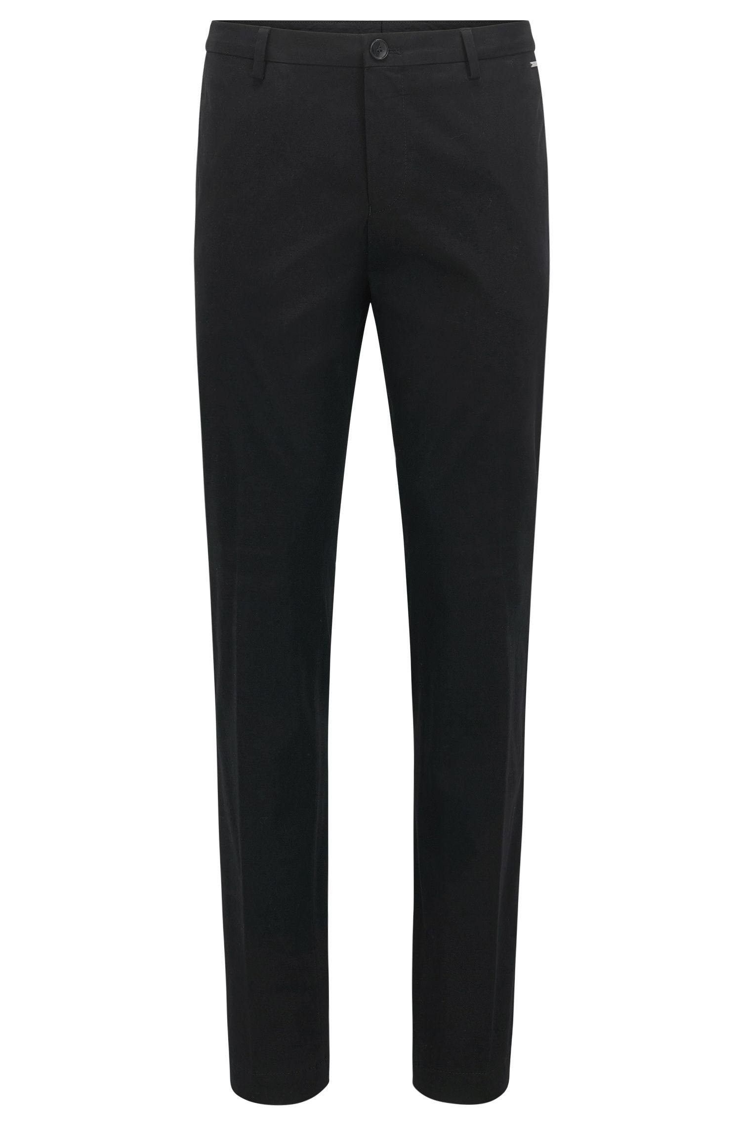Pantaloni slim fit in cotone elasticizzato