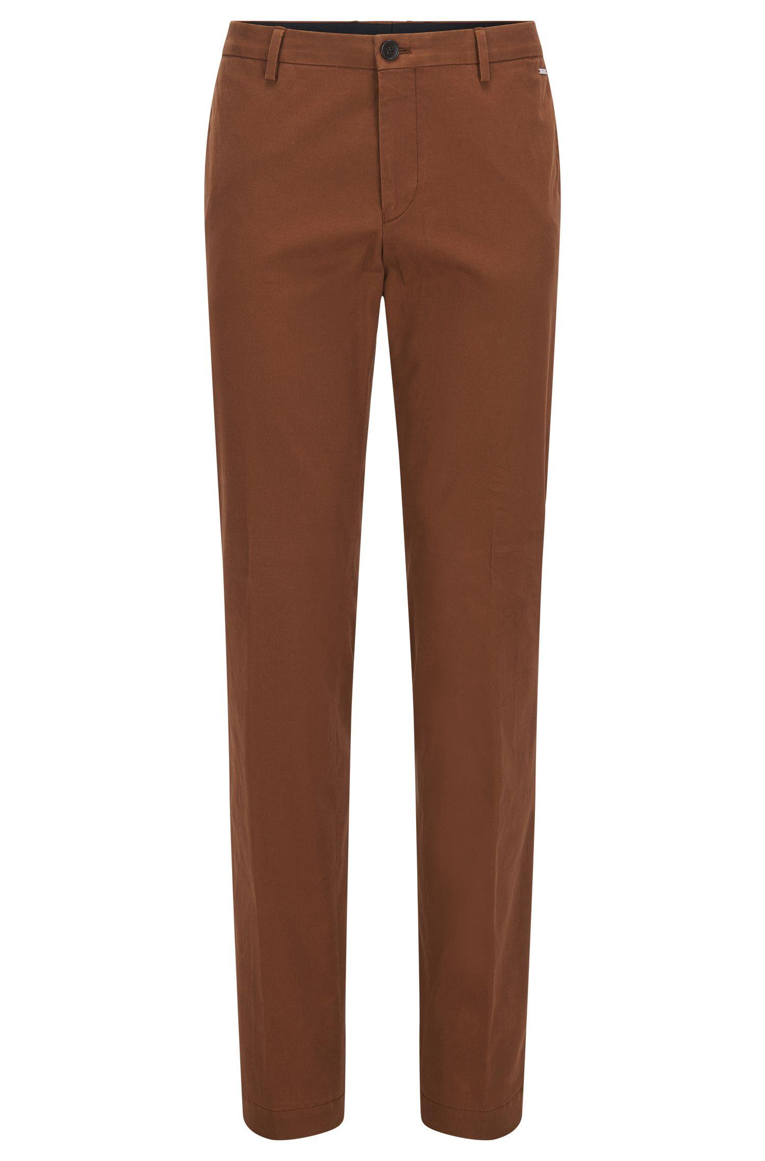 Pantalon Slim Fit en coton stretch