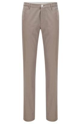 Slim-Fit Hose aus Stretch-Baumwolle, Beige