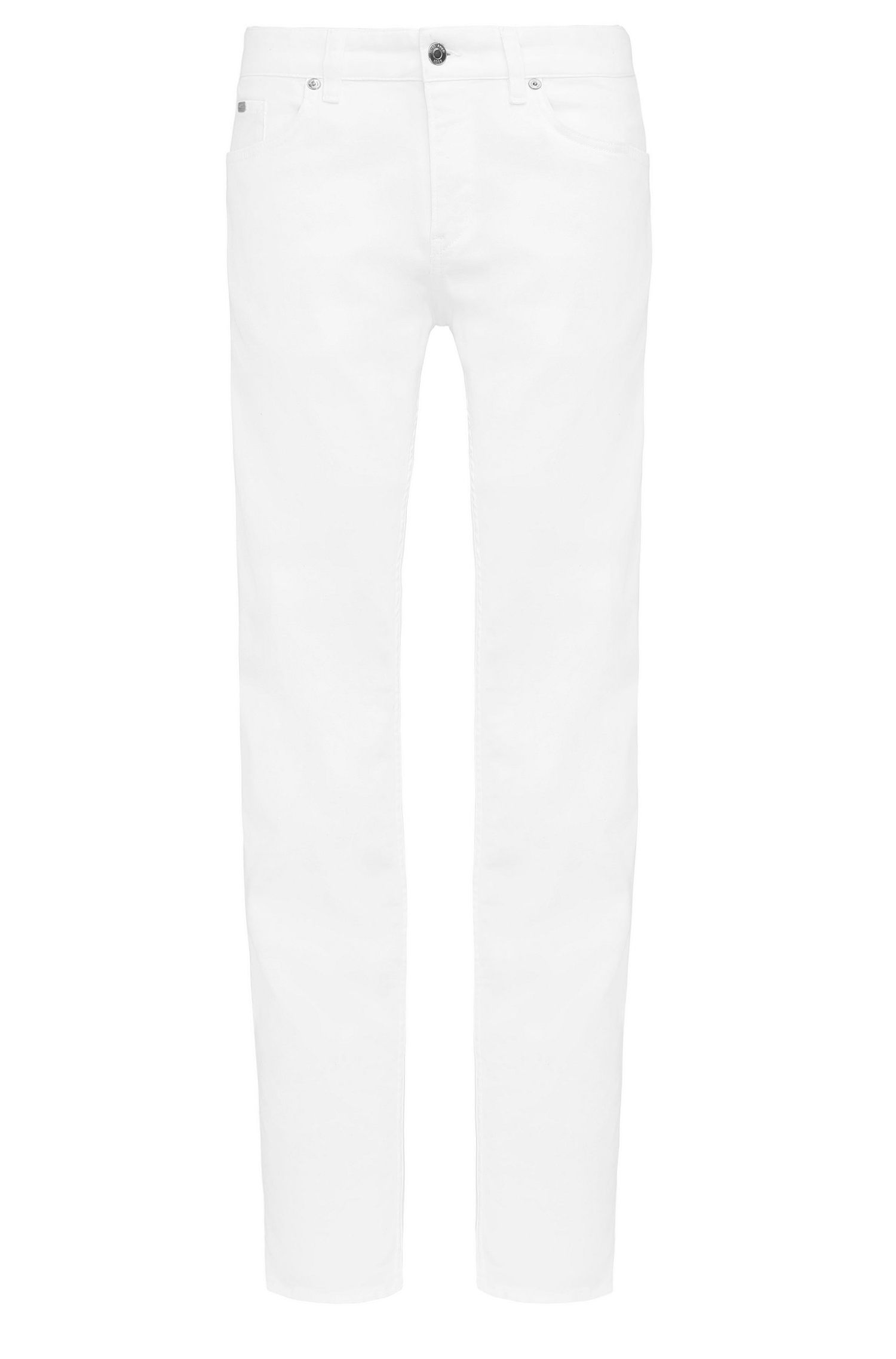Jeans Slim Fit en coton extensible: «C-DELAWARE1»