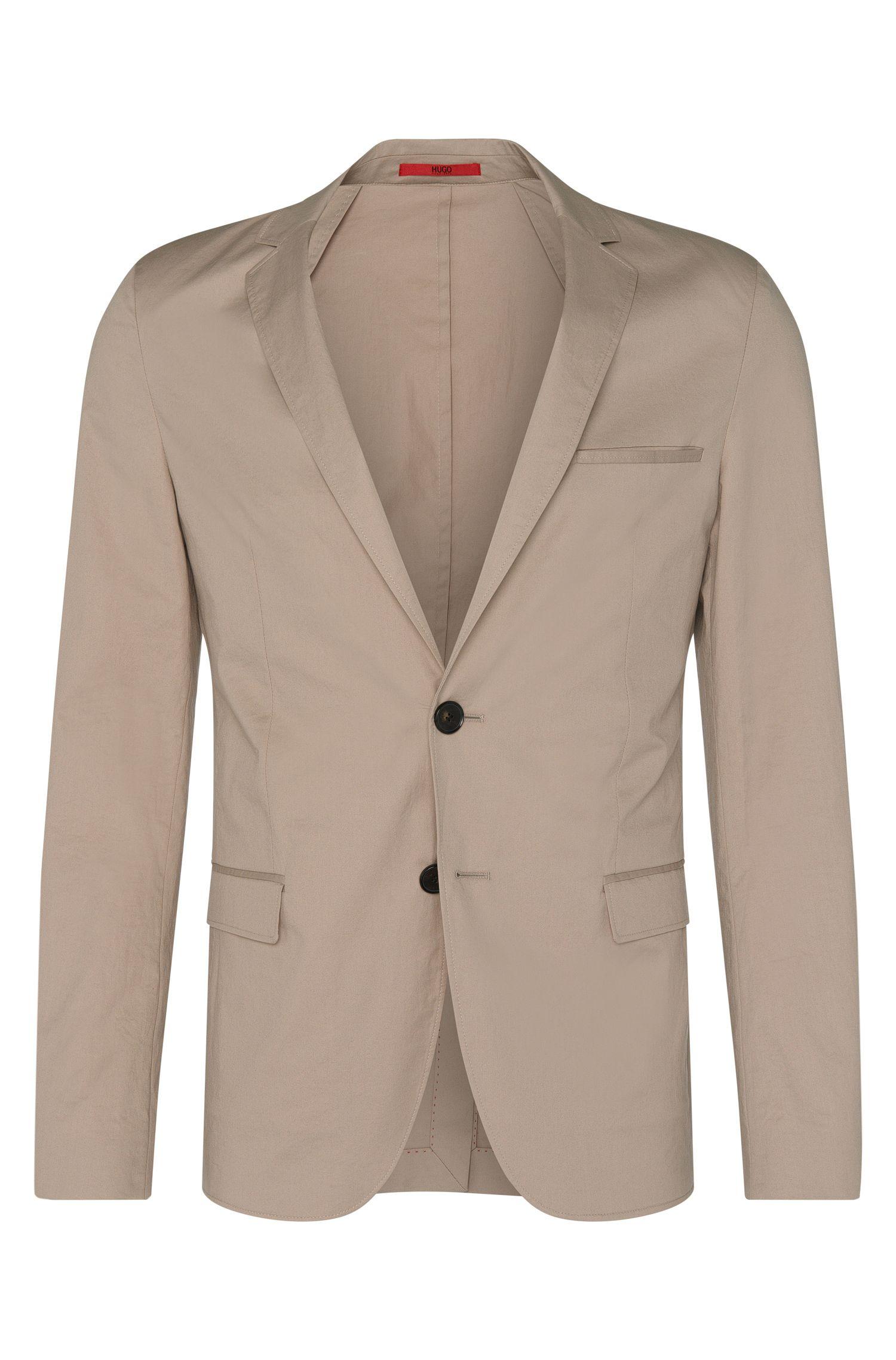 Veste de costume Slim Fit en coton stretch: «Anfred»