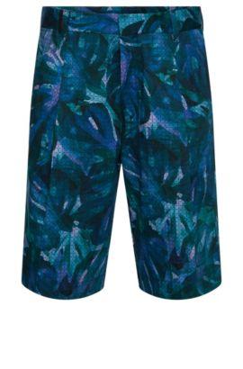 Shorts estampados relaxed fit en algodón elástico: 'Himon', Fantasía