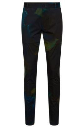 Pantalon Slim Fit à motif, en coton stretch: «Heldor2», Fantaisie