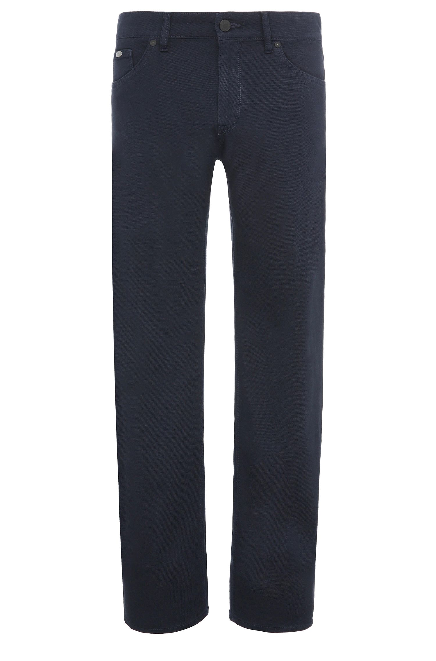 Jeans Regular Fit en coton stretch: «C-Maine1-2-20»