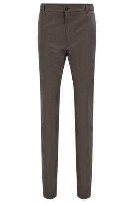 Pantalon Extra Slim Fit en coton stretch, Gris sombre